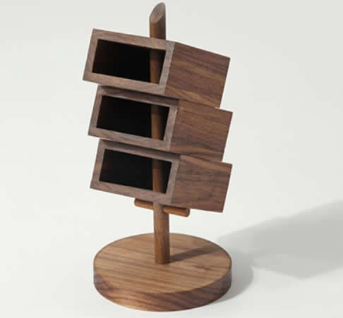 wooden office desks. 3 Tier Wooden Office Desk Organizer,Black Walnut Desks