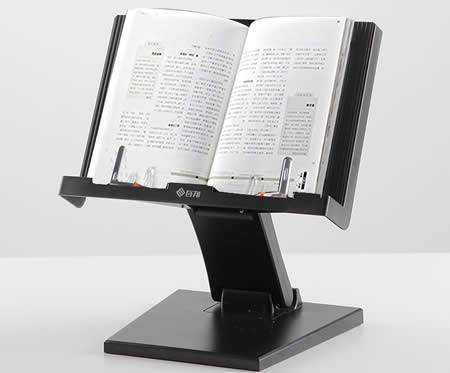 Easy To Carry Adjustable Angle Bookstand Reading Stand Tablet PC Holder