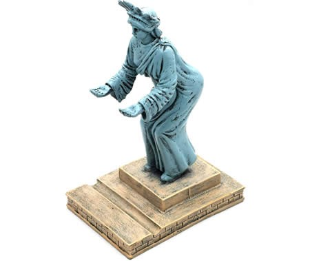 Creative American Statue of Liberty Cell Phone Holder Office Pen Holder