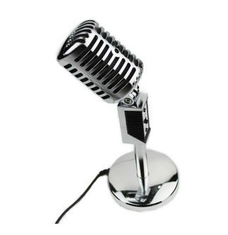 90 Degrees Rotate  Classic Vintage Microphone