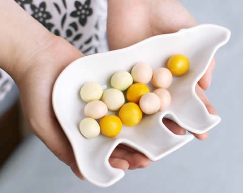Animal Porcelain Snack Plate