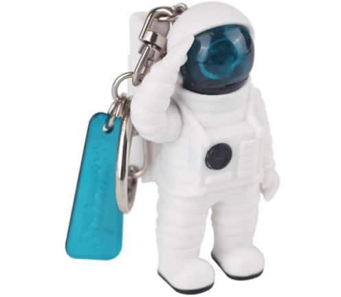 Astronaut Key Chain LED Light