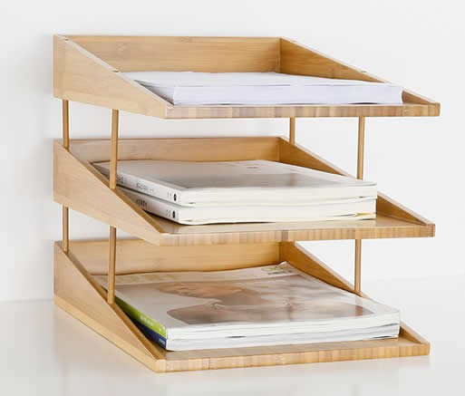 organizers wood organizer plan tray in compartment seven desk inside drawer