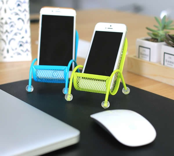 Beach Chair Cell Phone Holder Stand