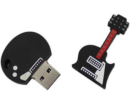 16G Guitar Shaped Usb Flash Drive