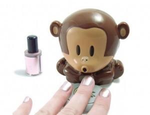New Cute  Monkey Nail Drier