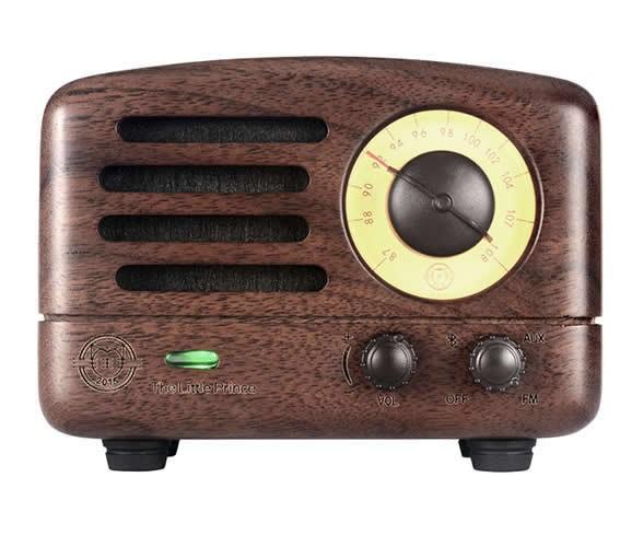 Bluetooth Wooden Speaker and FM Radio