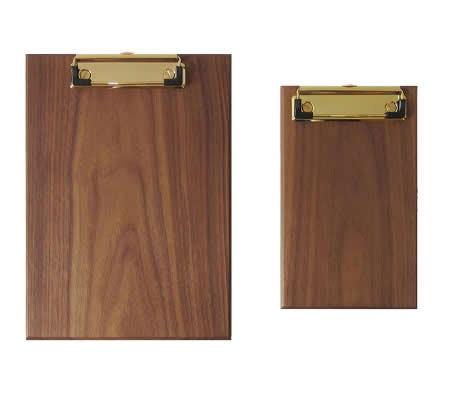 Wooden Document/Data/Paper File Holder Clipboard Folder Clip Organizer