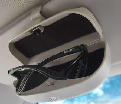 Car Visor Glasses Case Sunglasses Holder Sun Glass Storage Box