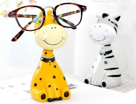 1dc14022844 Cartoon Animal Eye Glasses Holder - FeelGift