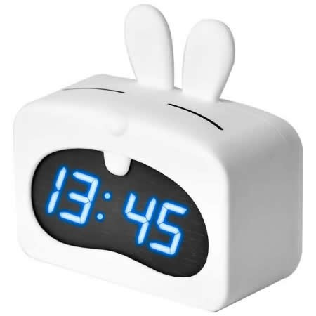 USB Cartoon LED Digital Alarm Clock