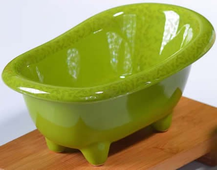 Ceramic Bathtub Soap Dish