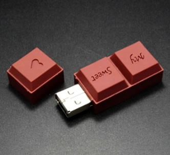 Chocolate Style Usb Flash Drive