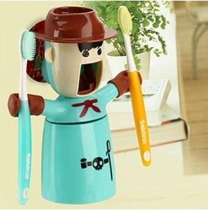 Cowboy Style Automatic Toothpaste Dispenser