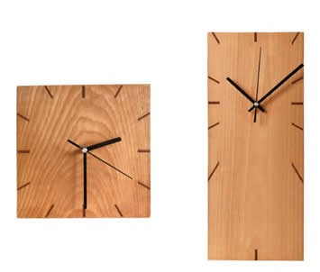 Creative Design Handmade Wooden Wall Clock