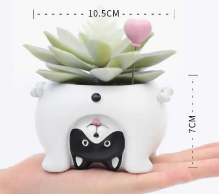 Cute Animal Flowerpot Animal Resin Succulent Planter