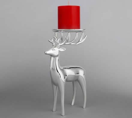 Deer Decorative Single Tealight Candle Holder