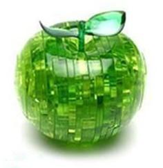 Diy 3D Apple Crystal Puzzle