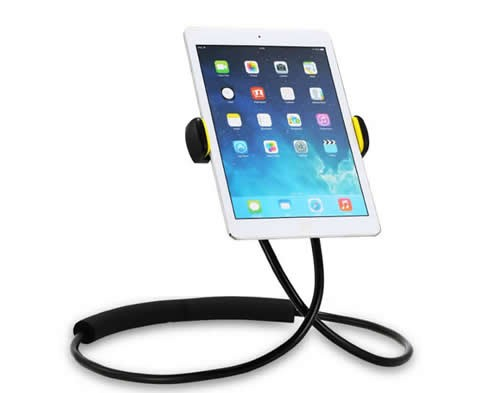 DIY Free Rotating Flexible Hang Neck Universal Mobile Phone Ipad Stand