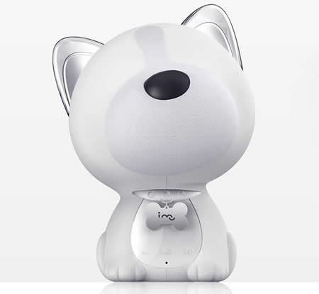 Dog Shaped Portable Bluetooth Speaker