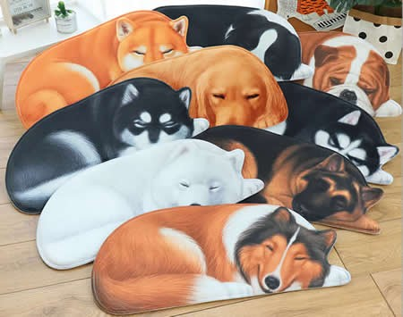 Dog Style Area Floor Mat/Rug