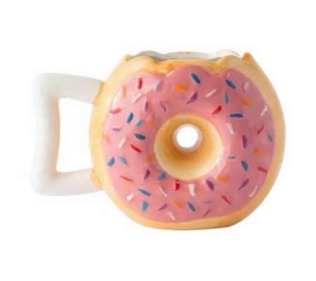 Doughnut Ceramic Mug Coffee Tea Water Cup