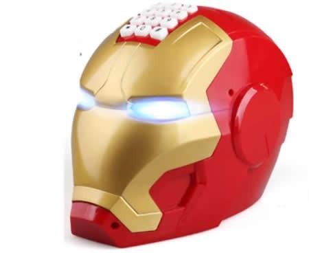 Electronic Iron Man Password Piggy Bank Cash Coin Can Auto ...