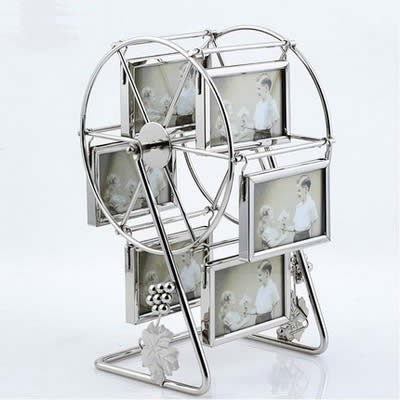 Family Ferris Wheel Picture Frame With 6 Hanging Picture Frames ...