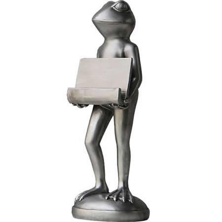 Frog Business Name Card Holder Display Stand for Desk