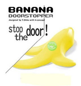 Funy Banana Door Stopper