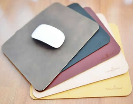 Genuine Leather Mouse Pad Desk Mat