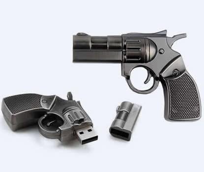32G Gun USB Flash Memory Drive
