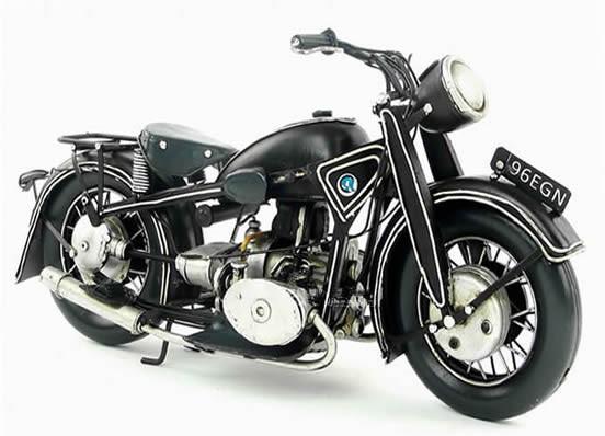 Handmade Antique Model Kit Motorcycle-1923 German Motorcycle R32