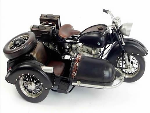 Handmade Antique Model Kit  Motorcycle-1938 World War Two German Motorcycle R71
