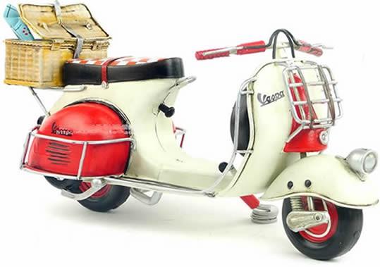 Handmade Antique Model Kit Motorcycle-1959 VESPA motorcycle