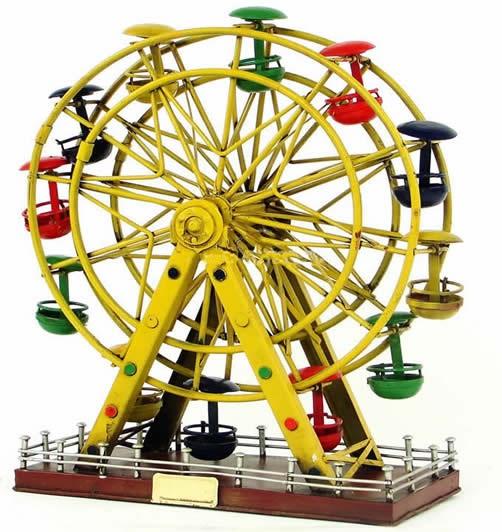 Handmade Antique Tin Model Other-Ferris wheel