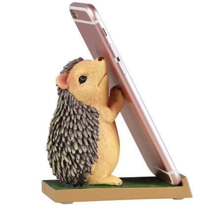 Cartoon Hedgehog Desktop Mobile Phone iPad Holder Stand
