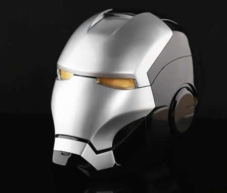 Iron Man Helmet Large Piggy Bank Black