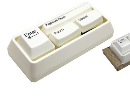 Keyboard Keys Stationery Set