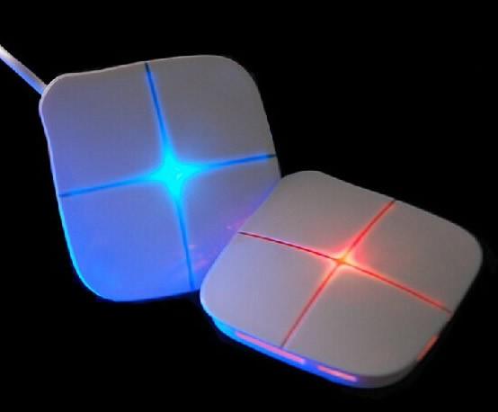 Luminous 8 Ports USB 2.0 All In One Hub Station: 6 Ports USB 2.0 Hub,   1 SD Card Reader, 1 T-Flash card
