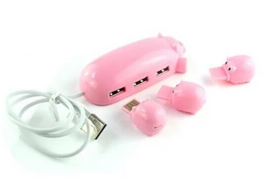 Mama pig and piglets usb hub christmas gifts cool stuffs feelgift a