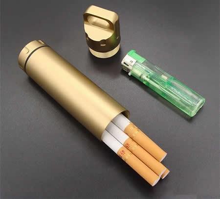 Mini Aluminum Cigarette Case Holder