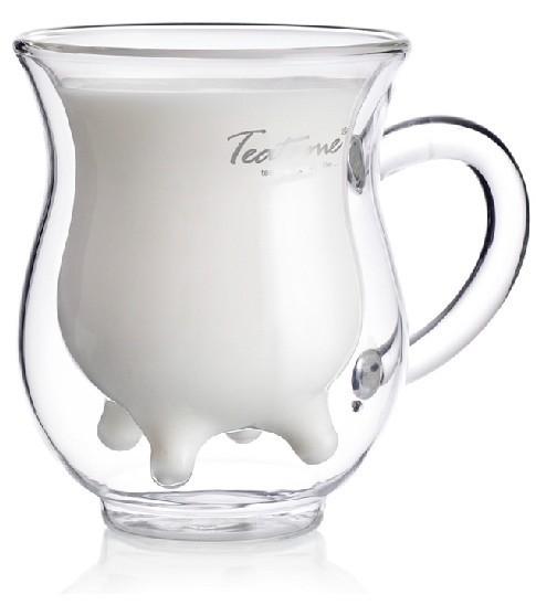 Cow Udder Shaped Cute Milk Glass Mug