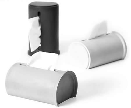 Modern  Concrete Home Bath Tissue Box Holder
