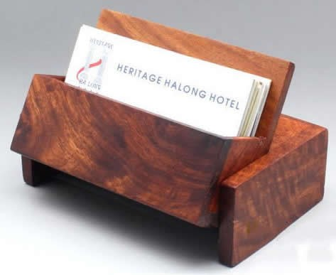 Nature bamboo wooden business card case holder feelgift nature bamboo wooden business card case holder colourmoves