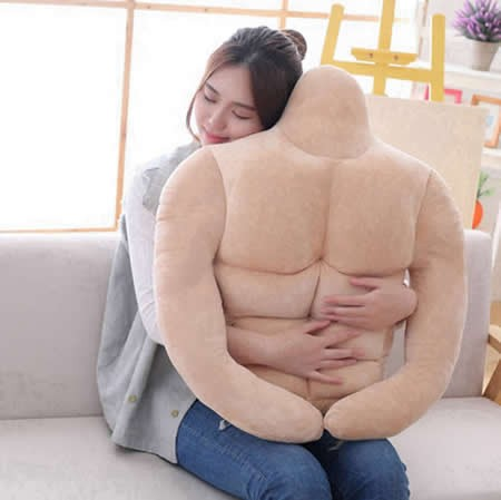 New Muscle Man Pillow Cushion
