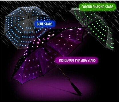 Night Glow LED Flashlight Umbrella