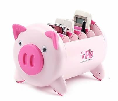 Pig Remote Control Organizer Caddy - FeelGift