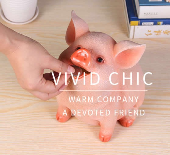 Pig Shaped Piggy Bank