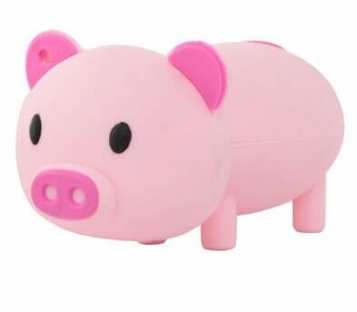 32G Pig Shaped USB Flash Drive
